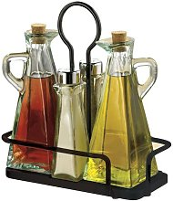 Tablecraft Marbella Oil & Vinegar & Salt & Pepper