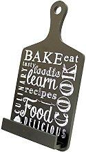 Tablet Holder and Cookbook Stand, Bake Design, by