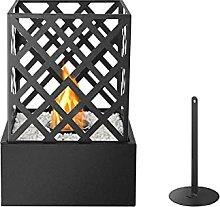 Tabletop Bio Ethanol Indoor and Outdoor Fireplace