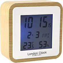 Tabletop Clock London Clock Company Finish: Beige