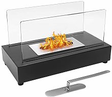 Tabletop Ethanol Fire Pit, Indoor Outdoor Portable