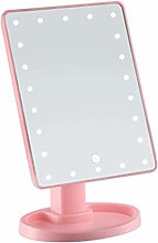 Tabletop Makeup MirrorLED Lighted Touch Screen