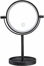 Tabletop Makeup MirrorPortable 360° Rotaty 14 LED