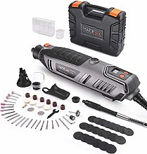 TACKLIFE Rotary Tool 200W with LCD Display Screen,