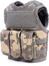 Tactical Beer Vest Adjustable Wine Bottle Cover