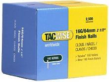 Tacwise 0301 Straight Brad Finish Nail Gun, 64 mm