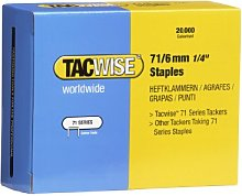 Tacwise 0367 Staple Gun, 6mm
