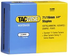 Tacwise 0372 71/16 mm Galvanised Staples - Box of