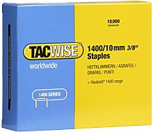 TACWISE 0378 1400/10 mm Galvanised Staples, Pack