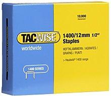 Tacwise 0379 1400/12mm Staples for Staple Gun