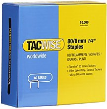 Tacwise 0381 Type 80/6mm Staples for Staple Gun
