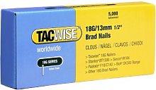 Tacwise 0393 18G/13mm Nails for Nail gun(Box of