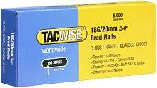 Tacwise 0395 18G/ 20mm Nails for Nail Gun (Box of