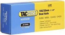 Tacwise 0398 18G/ 32mm Nails for Nail Gun (5000)