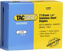 TACWISE 1014 71/6 mm Stainless Steel Staples,