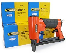 TACWISE 1189 Upholstery Air Gun and 71/8 mm
