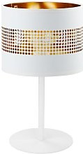 Tago table lamp white/gold