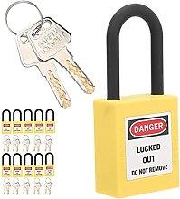 Tagout Lock, Non‑Conductive Thermoplastic