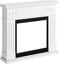 TAGU Larsen Electric Fireplace Mantel (Pure White)