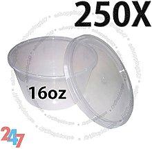 TAHA®-250 Multi Purpose ROUND FOOD GRADE PLASTIC