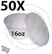 TAHA® 50X Multi Purpose ROUND FOOD GRADE PLASTIC