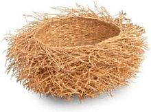 Tahiana - Small Vetiver Basket - Wood/Natural
