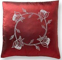 Tahiti 18' Burgundy Cushion Cover Bed Sofa
