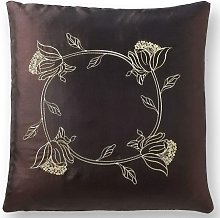 Tahiti 18' Chocolate Brown Cushion Cover Bed