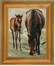 Tailored Frames Solid Antique Pine Wooden Picture