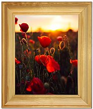 Tailored Frames Solid Natural Pine Wooden Picture