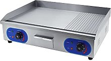 TAIMIKO Commercial Electric Griddle Stainless