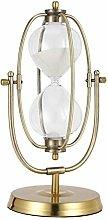 Taimin Metal Hourglass Glass European-style