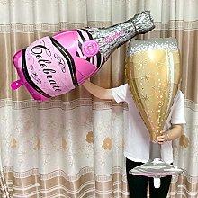 TAIYUANNT balloon Big Helium Balloon Champagne