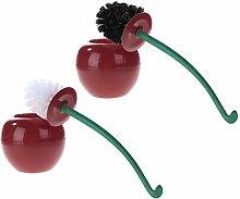 TAIYUANNT Toilet brush Cherry Shaped Toilet Brush
