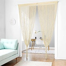 Taiyuhomes Classic Spaghetti String Curtain Fly