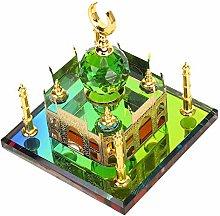 Taj Mahal Miniature Building Model Elegant Ti