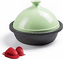 Tajine Cooking Pot, Cast Iron Tagine Pot Cooking