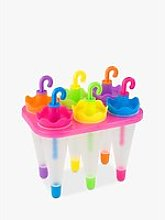 Tala Umbrella Ice Lolly Moulds Assorted, Set of 6