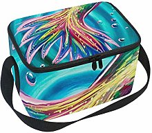 Tale of The Mermaid Lunch Box Insulated Lunch Bag