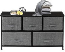 Talkeach - 2-Tier Wide Closet Dresser, Nursery