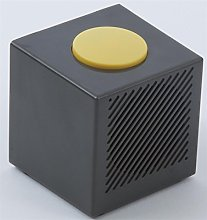 Talking Cube Alarm Clock. Grey/Yellow Comes with 4