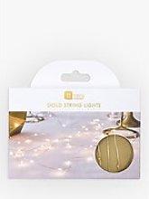 Talking Tables Gold String Lights