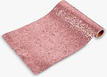 Talking Tables Pink Glitter Table Runner, 1.8m