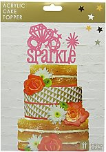 Talking Tables Sparkle Acrylic Cake Topper Party