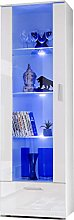 Tall Display Cabinet Modern Design Front