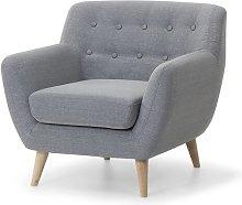 Tally Armchair Fjørde & Co Upholstery: Light Grey