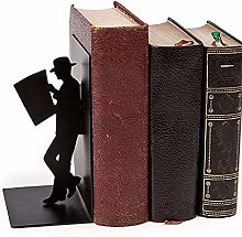 Taloit Fashion Creative Metal Decorative Bookend