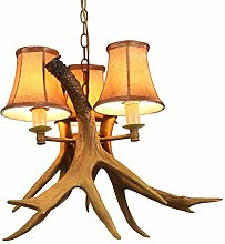 TAM88 Country Retro Chandelier,Creative Resin