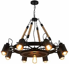 TAM88 Industrial Retro Pendant Light,Adjustable