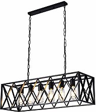 TAM88 Industrial Retro Pendant Light,Creative